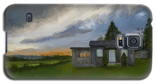 The Cabin On The Hill Galaxy S5 Case