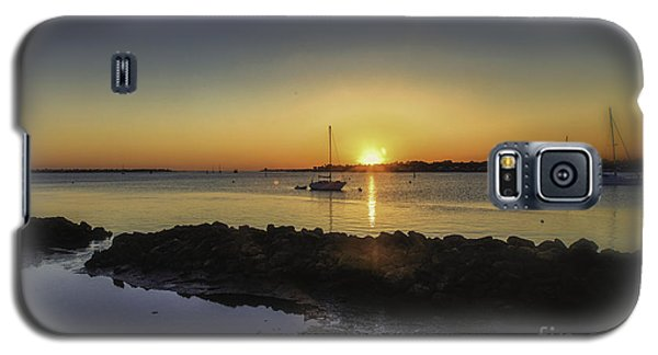 The Calm At Sunrise Galaxy S5 Case by Mary Lou Chmura