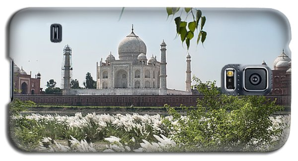 The Calm Behind The Taj Mahal Galaxy S5 Case