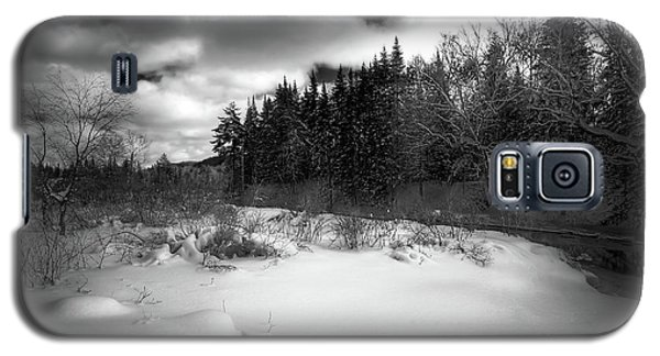 Galaxy S5 Case featuring the photograph The Calm Of Winter by David Patterson