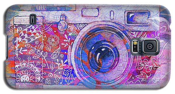 Galaxy S5 Case featuring the digital art The Camera - 02c3t by Variance Collections