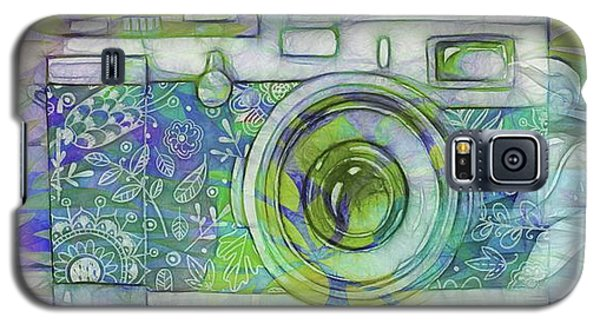 Galaxy S5 Case featuring the digital art The Camera - 02c5b by Variance Collections