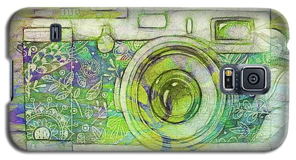 Galaxy S5 Case featuring the digital art The Camera - 02c5bt by Variance Collections