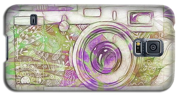 Galaxy S5 Case featuring the digital art The Camera - 02c6 by Variance Collections