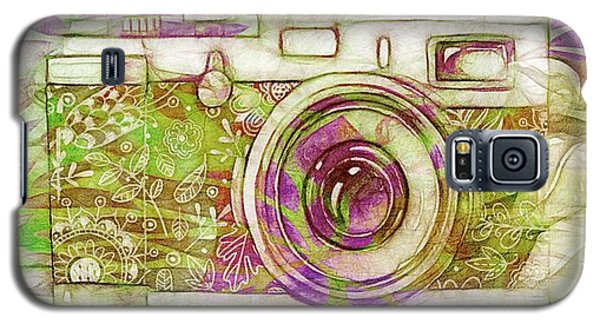 Galaxy S5 Case featuring the digital art The Camera - 02c6t by Variance Collections