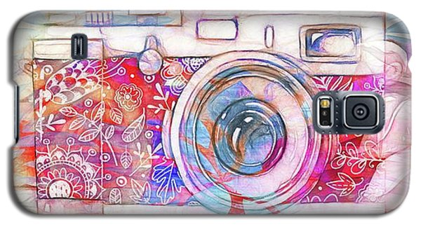 Galaxy S5 Case featuring the digital art The Camera - 02c8v2 by Variance Collections