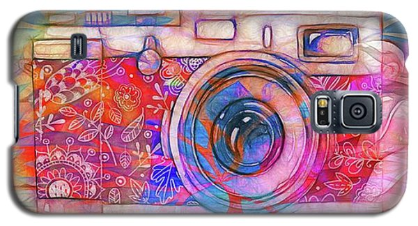 Galaxy S5 Case featuring the digital art The Camera - 02v2 by Variance Collections