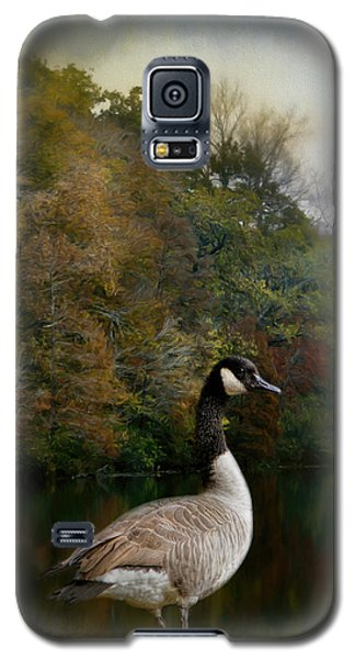 The Canadian Goose Galaxy S5 Case by Jai Johnson
