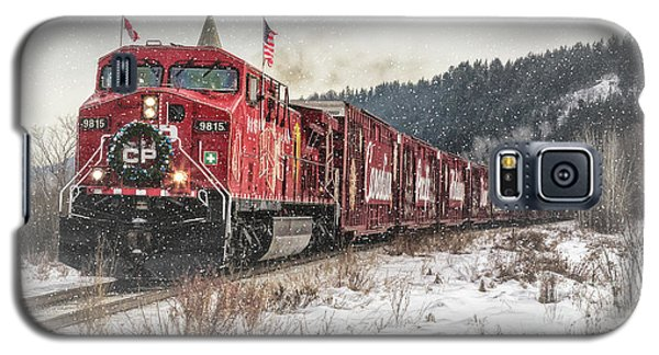 The Canadian Pacific Holiday Train Galaxy S5 Case