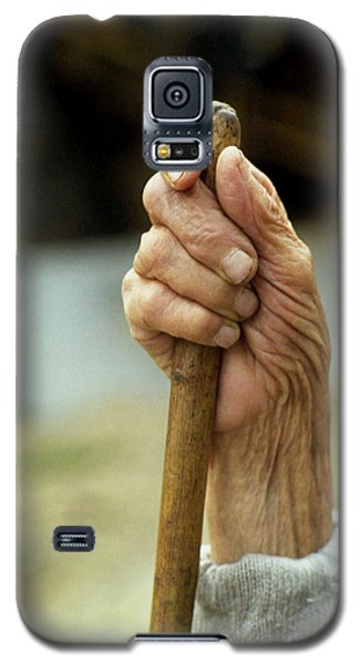 Galaxy S5 Case featuring the photograph The Cane by Emanuel Tanjala