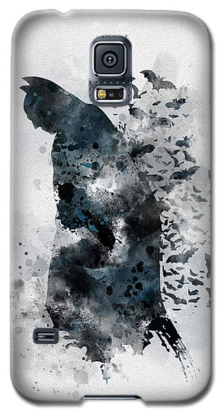 The Caped Crusader Galaxy S5 Case by Rebecca Jenkins