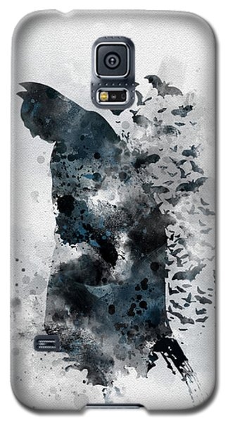 Bat Galaxy S5 Case - The Caped Crusader by Rebecca Jenkins