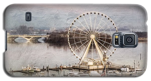 The Capital Wheel At National Harbor Galaxy S5 Case