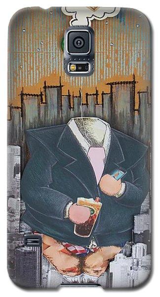 The Capitalist Galaxy S5 Case by Mack Galixtar