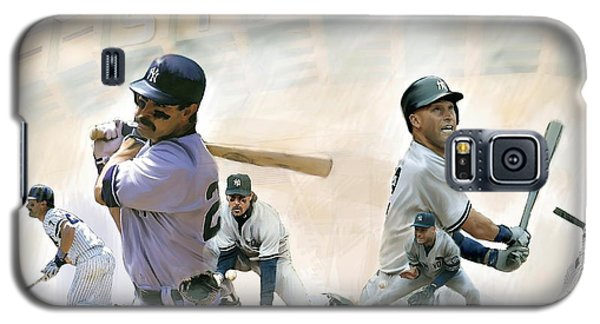 The Captains II Don Mattingly And Derek Jeter Galaxy S5 Case