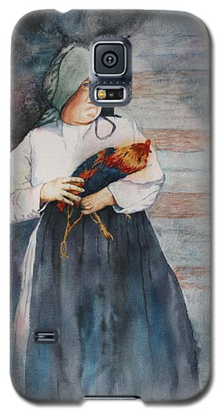 Galaxy S5 Case featuring the painting The Capture Of Beauregard by Patsy Sharpe