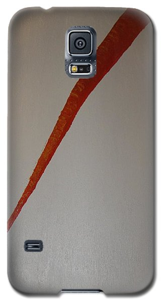 Galaxy S5 Case featuring the painting The Carrot by Barbara Yearty