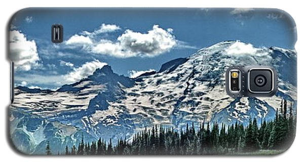 The Cascade Mountains And Mt. Rainier Galaxy S5 Case