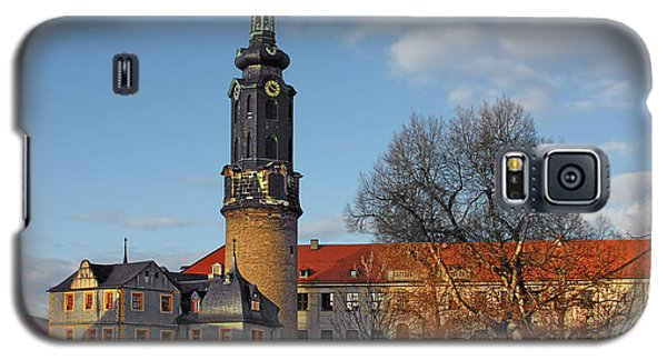 The Castle - Weimar - Thuringia - Germany Galaxy S5 Case by Christine Till