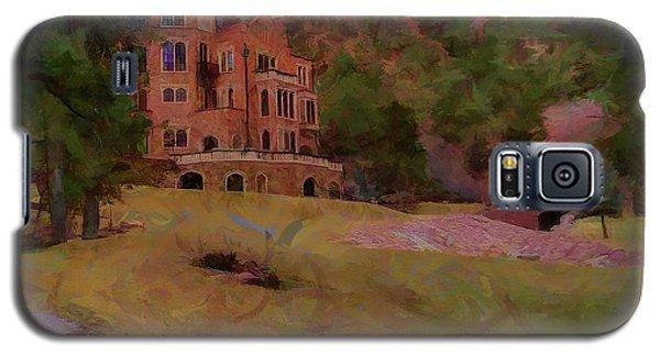 Galaxy S5 Case featuring the digital art The Castle by Ernie Echols
