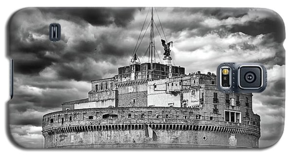 The Castle Of Sant'angelo In Rome Galaxy S5 Case