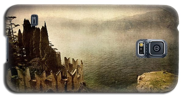 The Castle On The Lake. Malcesine Galaxy S5 Case