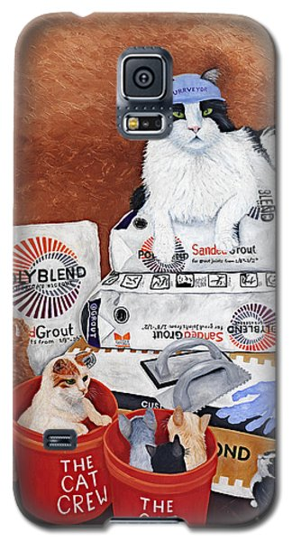 The Cat Crew Galaxy S5 Case