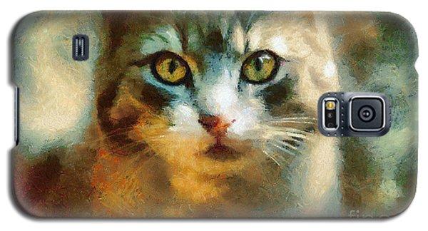 The Cat Eyes Galaxy S5 Case