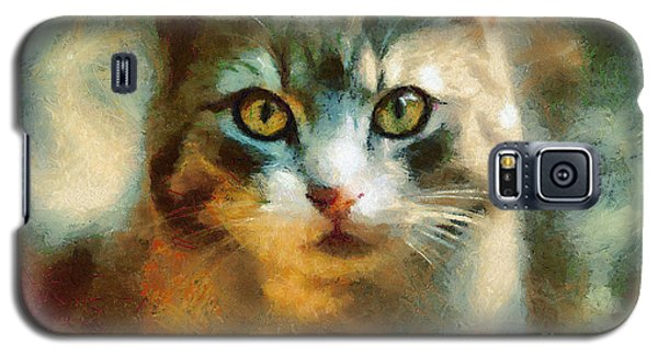 The Cat Eyes Galaxy S5 Case