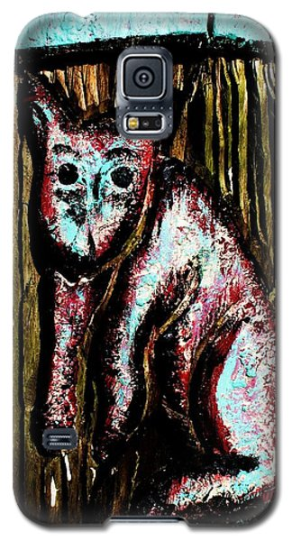 Galaxy S5 Case featuring the photograph The Cat by John King