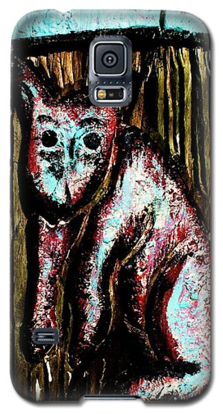 The Cat Galaxy S5 Case by John King