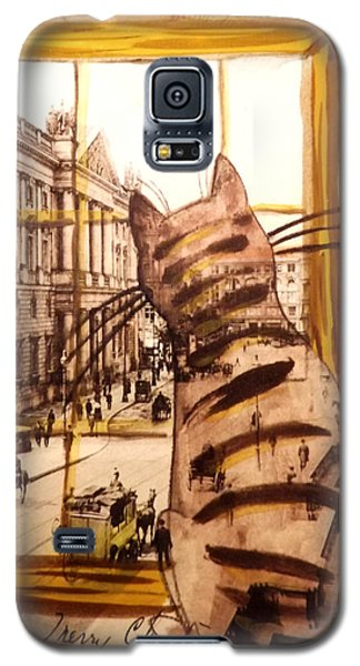 The Cat Who Saw Everything Galaxy S5 Case