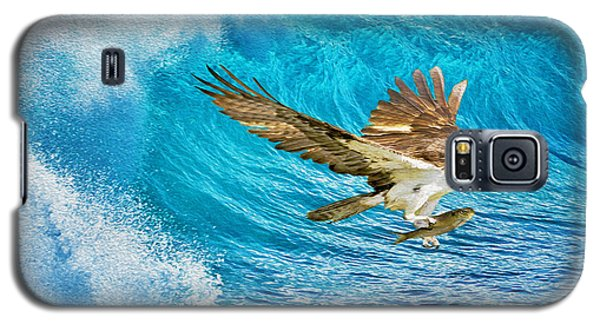 Osprey Galaxy S5 Case - The Catch by Laura D Young