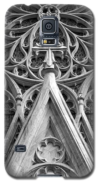 Galaxy S5 Case featuring the photograph The Cathedral Of St. Patrick Close Up by Michael Dorn