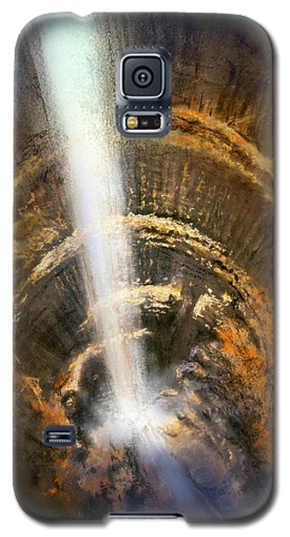 Galaxy S5 Case featuring the painting The Cavern by Andrew King
