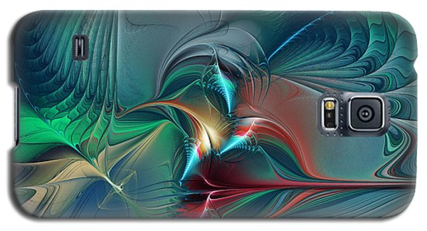 The Center Of Longing-abstract Art Galaxy S5 Case