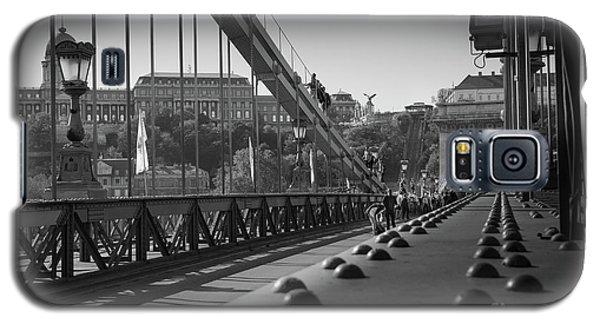 The Chain Bridge, Danube Budapest Galaxy S5 Case