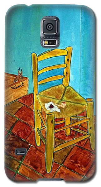 Galaxy S5 Case featuring the photograph The Chair by Joseph Frank Baraba