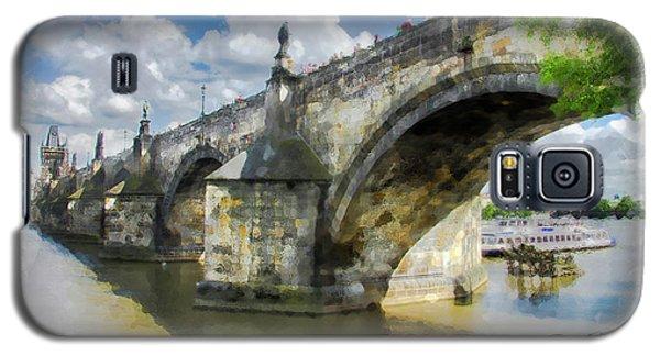 The Charles Bridge - Prague Galaxy S5 Case by Tom Cameron