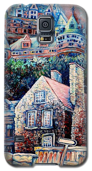 The Chateau Frontenac Galaxy S5 Case