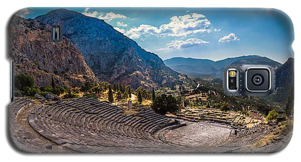 Galaxy S5 Case featuring the photograph The Cheap Seats At Delphi by Micah Goff