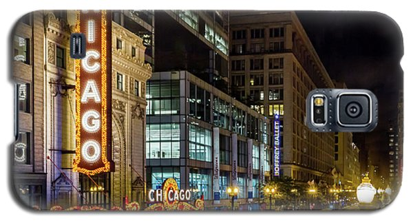 Illinois - The Chicago Theater Galaxy S5 Case