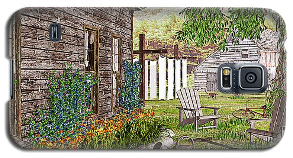 Galaxy S5 Case featuring the photograph The Chicken Coop by Peter J Sucy