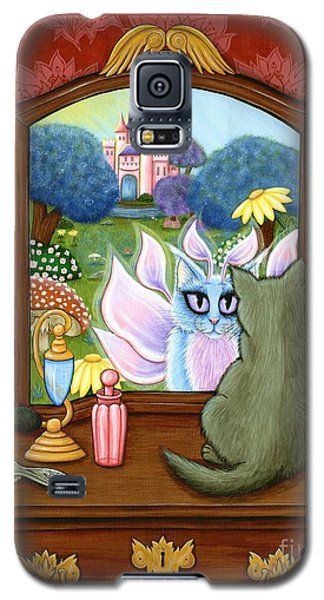 The Chimera Vanity - Fantasy World Galaxy S5 Case by Carrie Hawks