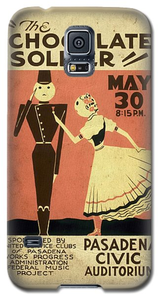 The Chocolate Soldier - Vintage Poster Vintagelized Galaxy S5 Case