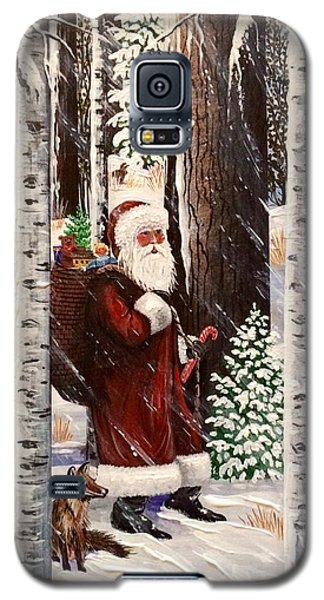 The Christmas Forest Visitor 2 Galaxy S5 Case