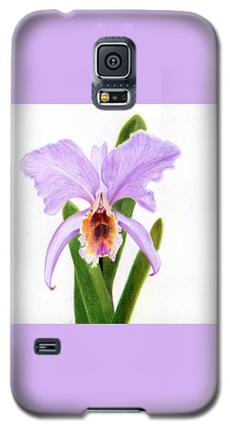 The Christmas Orchid Galaxy S5 Case