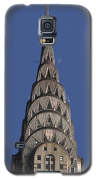 The Chrysler Building - Deco Detail Galaxy S5 Case by Rona Black
