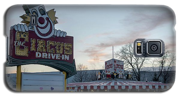 Galaxy S5 Case featuring the photograph The Circus Drive In Wall Township Nj by Terry DeLuco
