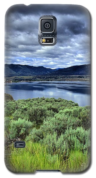 Galaxy S5 Case featuring the photograph The City And The Clouds by Tara Turner